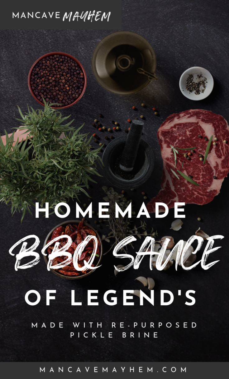 Homemade BBQ Sauce of Legend's
